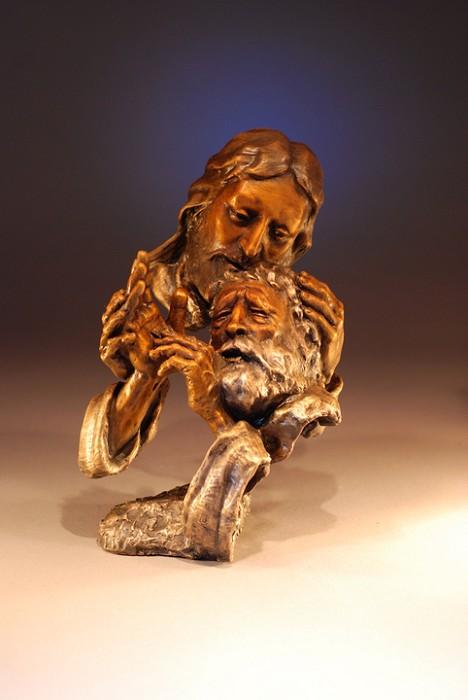 Mark HopkinsDoubt NotBronze Sculpture