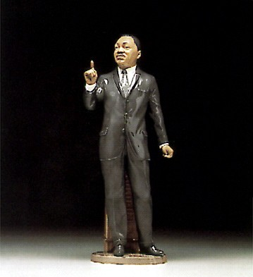 Lladro Dr Martin Luther King Jr Porcelain Figurine