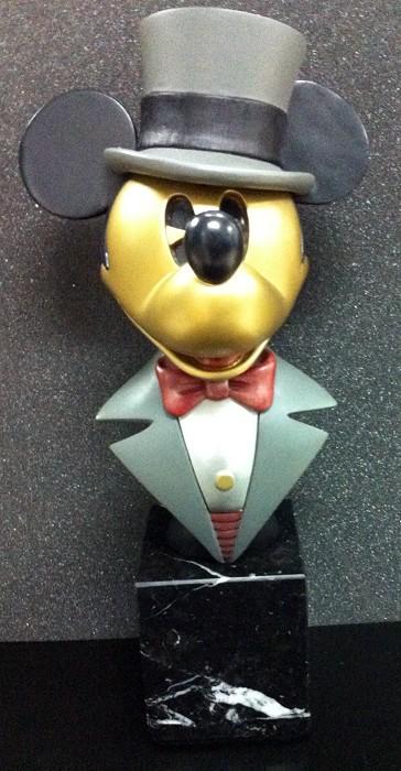 Disney ChilmarkMickey Puttin On The Ritz Metal Art