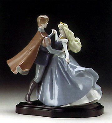 LladroSleeping BeautyPorcelain Figurine