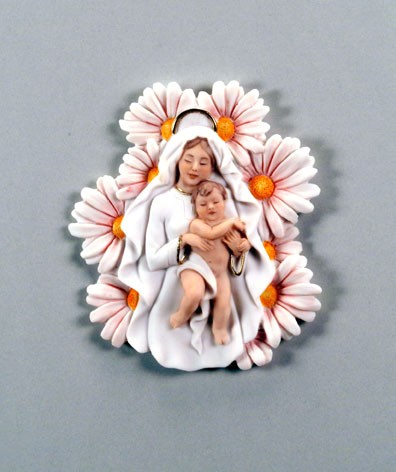 Giuseppe Armani Madonna Of The Daisies - Plaque