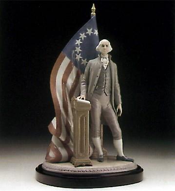 LladroGeorge WashingtonPorcelain Figurine