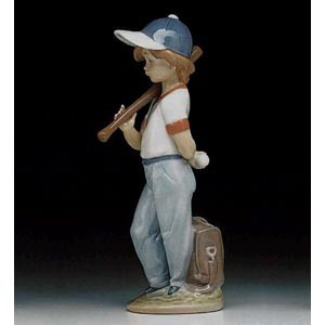 Lladro Can I Play Porcelain Figurine