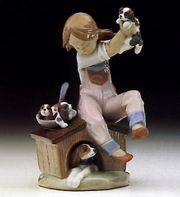 LladroPick Of The Litter 1993 EventPorcelain Figurine