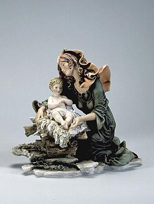 Giuseppe Armani Madonna & Christ    Child Le 750 Ret 04