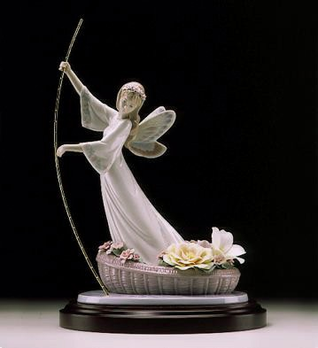 Lladro Enchanted Lake Society Le4000 1999 Only Porcelain Figurine