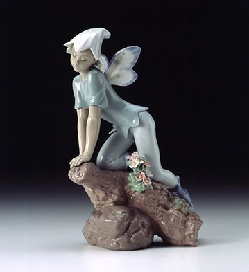 Lladro Prince Of Elves 2001 - 2002 Porcelain Figurine