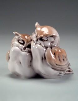 Giuseppe ArmaniTWO LITTLE OWLS