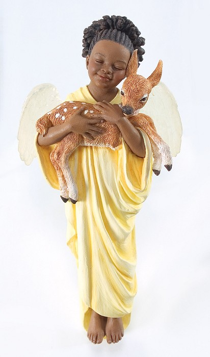 Ebony VisionsDeerly Loved Ornament