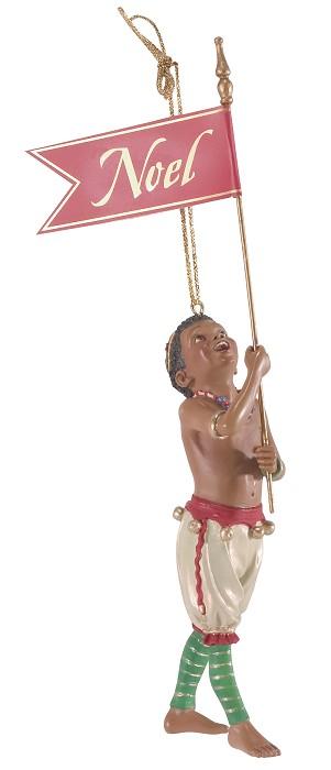 Ebony VisionsJingles Ornament