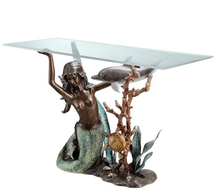 SPI Sculptures Mermaid Console Table