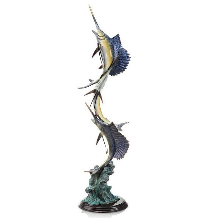 SPI SculpturesMarlin and Sailfish Seascape