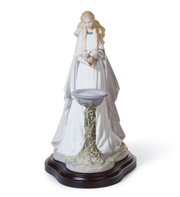 Lladro Mirror Of Galadriel