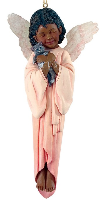 Ebony VisionsKitty Cuddle 2009 Annual Ornament