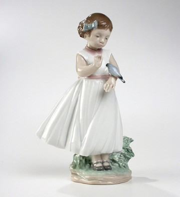 Lladro Are You Tired Porcelain Figurine
