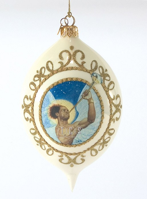 Ebony Visions The Angel Gabriel 2009 Ornament