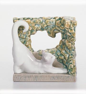 LladroKitten Natural FramesPorcelain Figurine