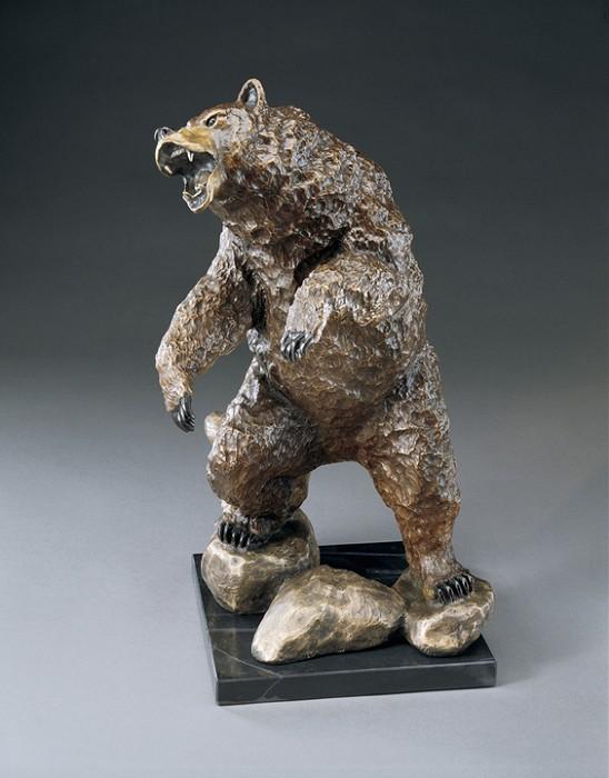 Mark HopkinsStandoffBronze Sculpture