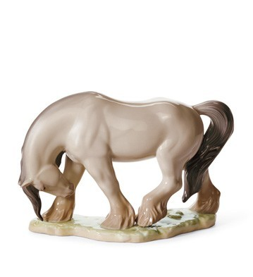 LladroHorse IIPorcelain Figurine