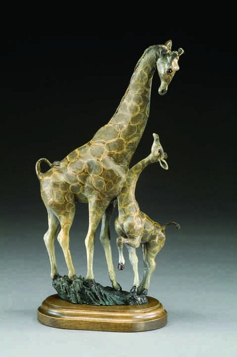 Mark HopkinsLookin UpBronze Sculpture