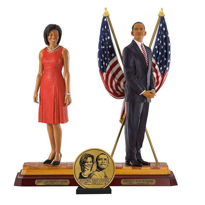Ebony VisionsBarack Obama Presidential Edition And First Lady Michelle Obama Hand Signed