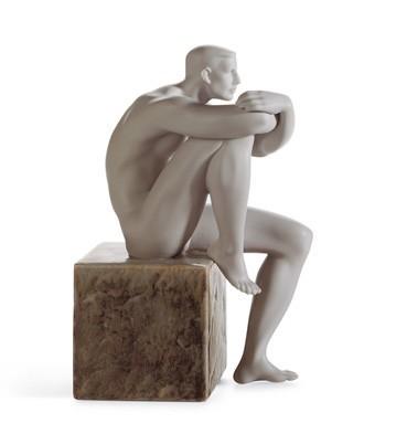 LladroEssence Of Man IIIPorcelain Figurine