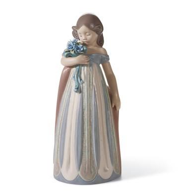 LladroPetals CaressPorcelain Figurine