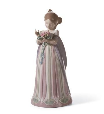 LladroBundle Of BlossomsPorcelain Figurine