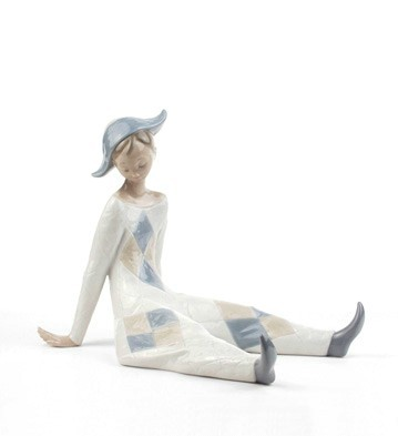 LladroWistful MemoriesPorcelain Figurine
