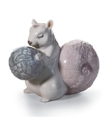 Lladro Festive Squirrel II
