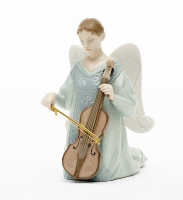 Lladro Cello - Cantata Porcelain Figurine
