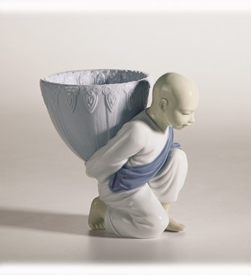 LladroPotpourri Gift (Blue)Porcelain Figurine