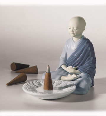 Lladro Incense Burner (Blue)