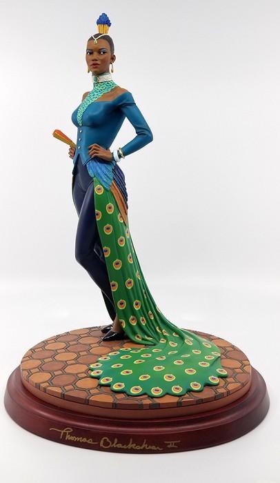 Ebony VisionsLady Peacock Gallery Proof