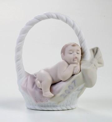 LladroBorn In 2007 (Girl)Porcelain Figurine