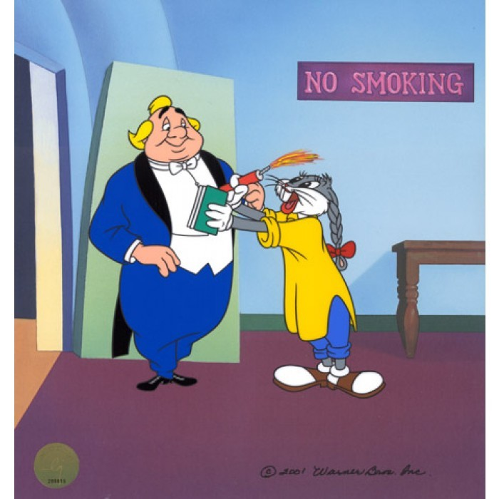 Chuck Jones Long Haired Hare Cel