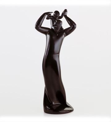 LladroGuide Ebony LookPorcelain Figurine
