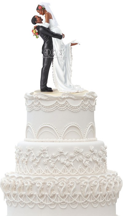 Ebony Visions Forever One Cake Topper