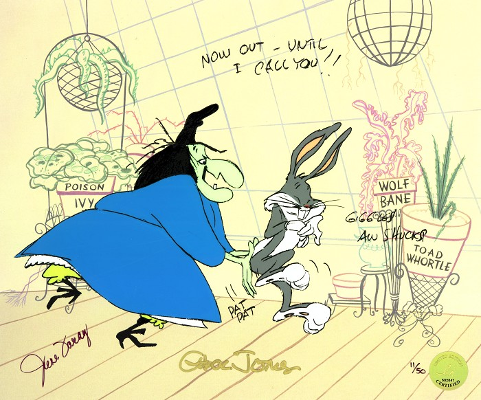 Chuck Jones Bewitched Bunny 1954 A Golden Age Edition