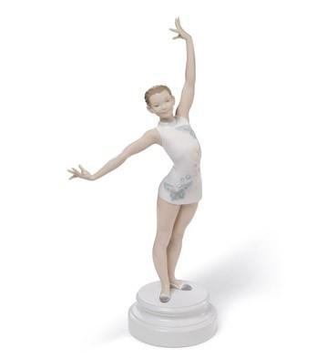 LladroGymnastPorcelain Figurine