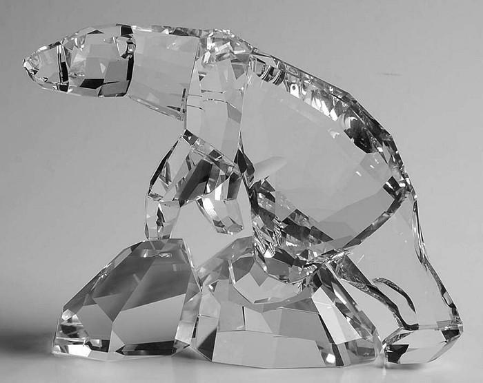 Swarovski CrystalNanuc Polar Bear