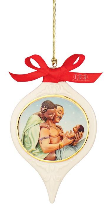 Ebony VisionsThe Family Ornament Porcelain