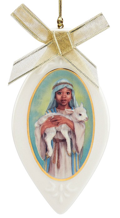 Ebony Visions The Young Shepherd Ornament