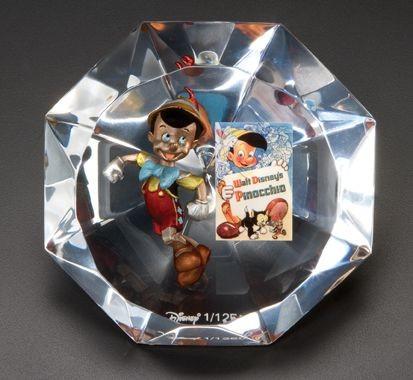 Starlite DisneyPinocchio Artist Proof No 6Mixed Media Sculpture