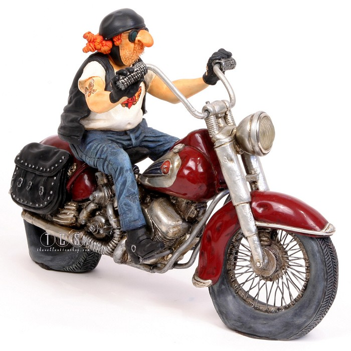 Guillermo ForchinoLe Biker The Motorbike