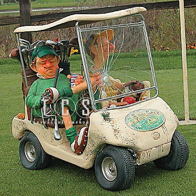 Guillermo Forchino The Next Hole Golf Cart