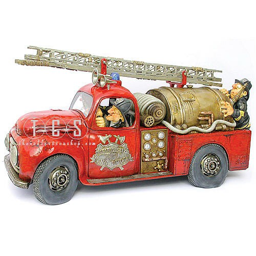 Guillermo Forchino Fire Engine (limited To 1000 Pcs)