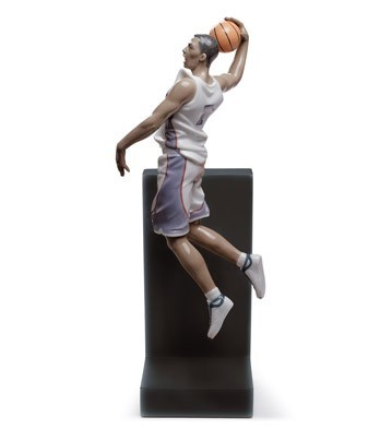 Lladro Basketball Dunk Porcelain Figurine