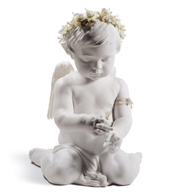 Lladro CHERUB OF LOVE