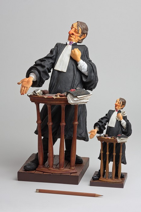 Guillermo ForchinoThe Lawyer / L'avocat 1/2 Scale